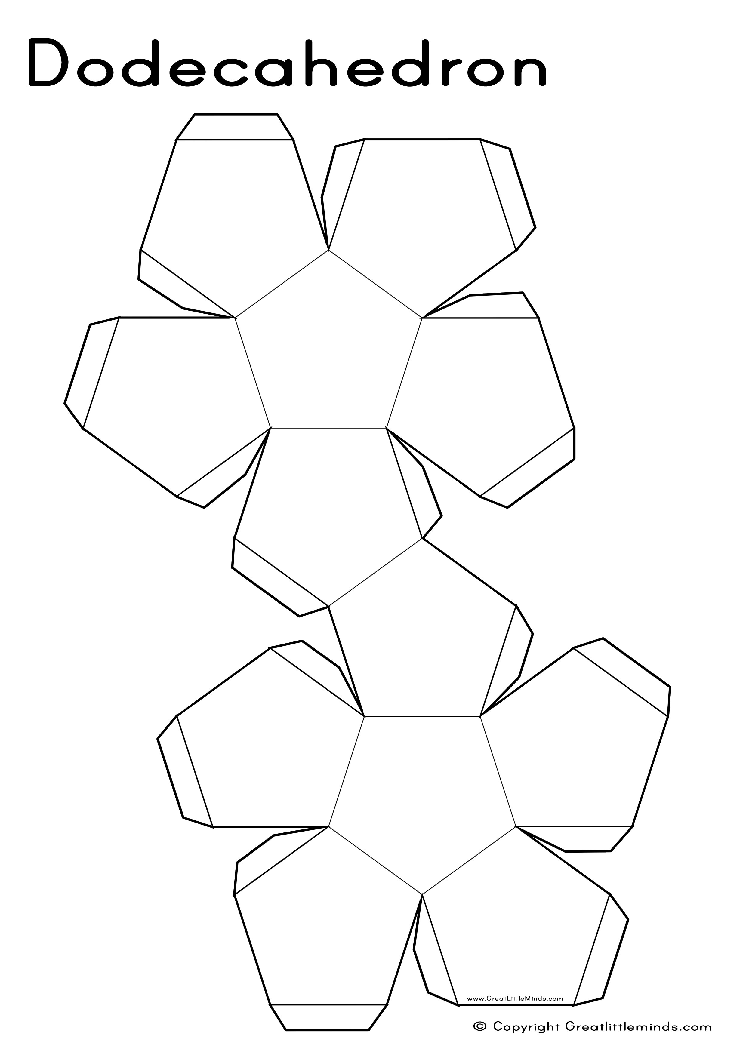 3D Nets - Dodecahedron