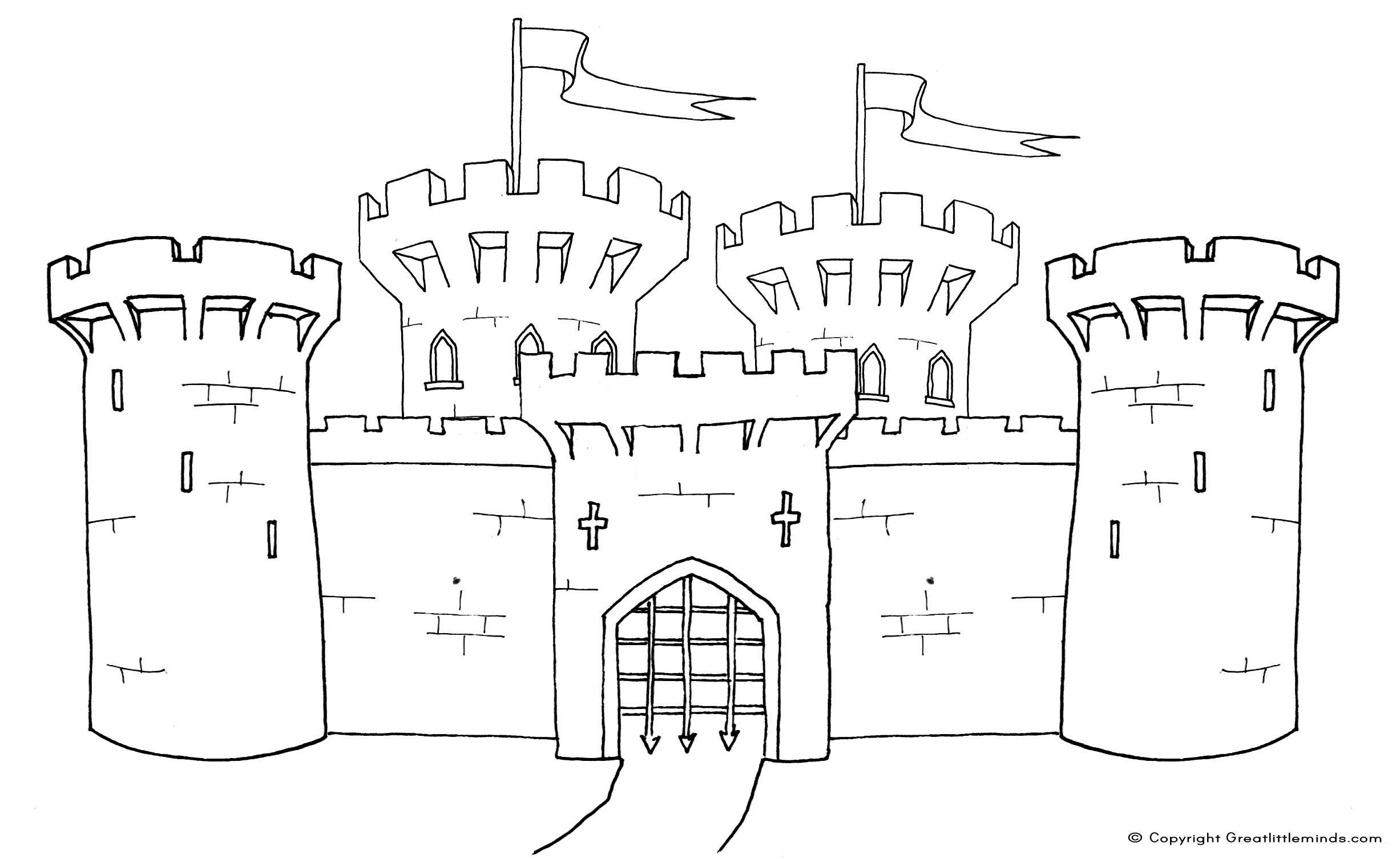 or click here for - Medieval Coloring Pages