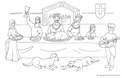 Parable great banquet parable great banquet sermons for Parable of the wedding feast coloring page