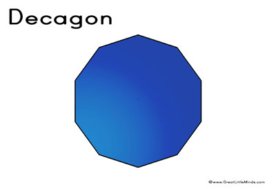 Polygon - Decagon